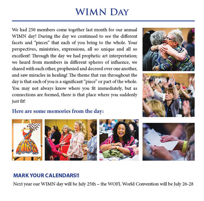 WIMN Day