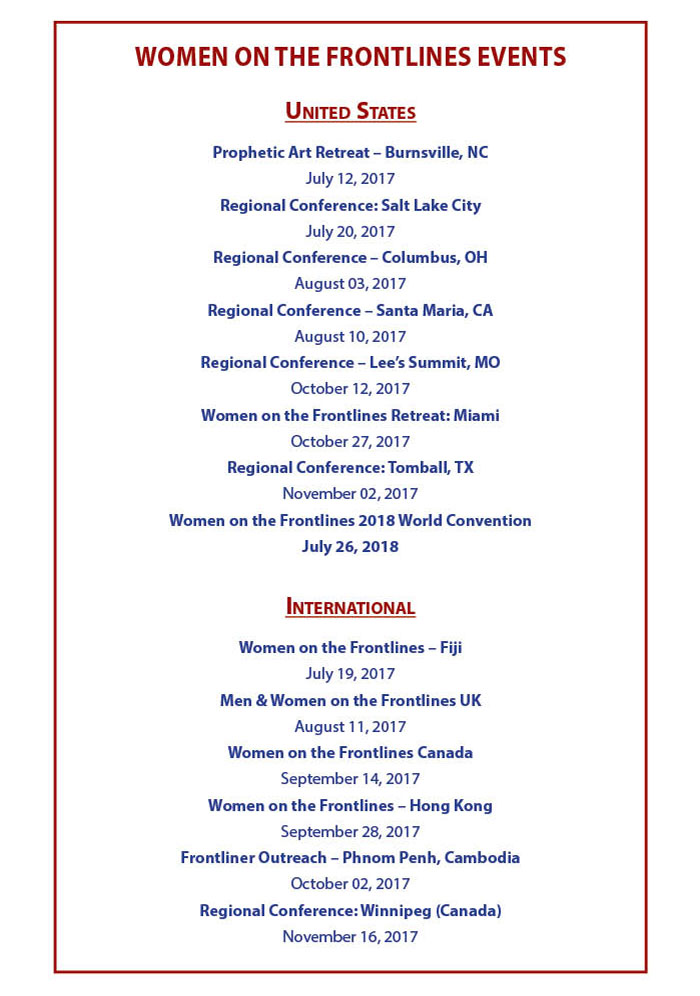 Upcoming WOFL events