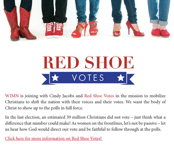 Red Shoe Vote